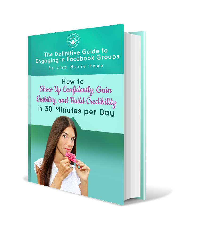 Show up Confidently, Gain Visibility and Build Credibility Free e-Book